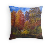 Autumn Impression, On the Lagan Throw Pillow