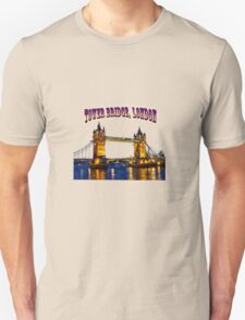 Tower Bridge, London Unisex T-Shirt