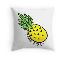 Pineapple of my Eye  Throw Pillow