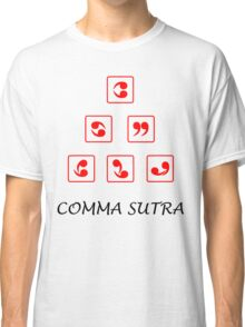 Funny Comma Sutra  Classic T-Shirt