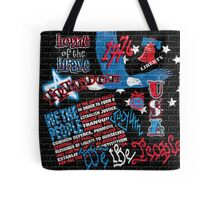 American Graffiti Tote Bag
