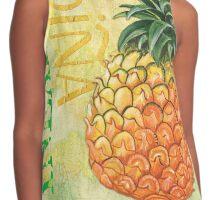 Froyo Pineapple Contrast Tank