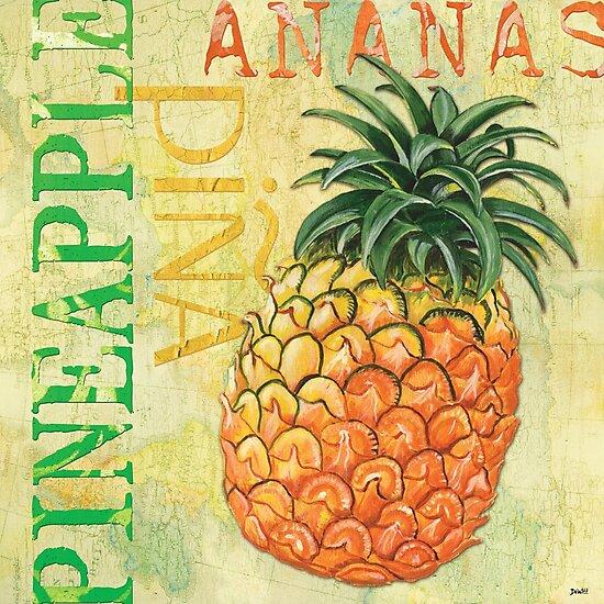 Froyo Pineapple by Debbie DeWitt
