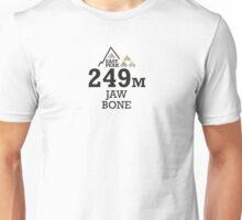 Tour de France, Grand Depart 2014 Souvenir T-Shirt Jaw bone Unisex T-Shirt