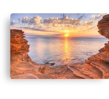 gantheaume sunset Canvas Print
