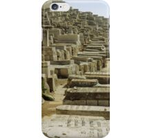 Next year In Jerusalem.... Jerusalem Cemetery iPhone Case/Skin
