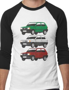 Fiat Panda first generation Men's Baseball ¾ T-Shirt