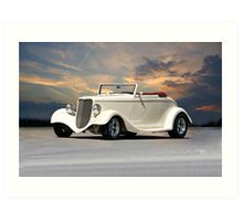 1933 Ford Cabriolet Art Print