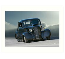 1937 Chevy 'Grumpy' Coupe Art Print