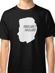 Margaret Haggard Logo - White Classic T-Shirt