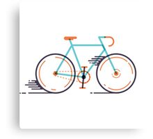 speed bike Canvas Print