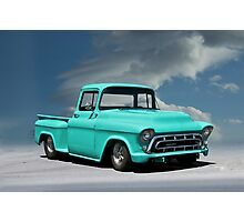 1956 Chevrolet Stepside Pickup Truck Photographic Print