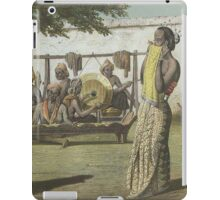 Traditional Ronggeng Dancer Retro Vintage iPad Case/Skin