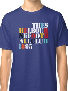 THE SHELBOURNE FOOTBALL CLUB 1895 (STONE ROSES) Classic T-Shirt