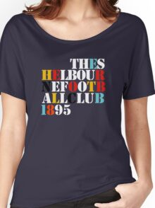 THE SHELBOURNE FOOTBALL CLUB 1895 (STONE ROSES) Women's Relaxed Fit T-Shirt