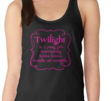 Anti Twilight Women's Tank Top