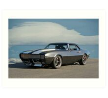 1967 Chevrolet Camaro RS Art Print