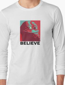 Pepe the Frog - Believe Long Sleeve T-Shirt