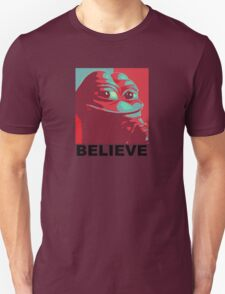 Pepe the Frog - Believe Unisex T-Shirt