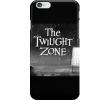 The Twilight Zone Poster iPhone Case/Skin