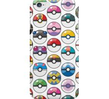 Pokemon Pokeball White iPhone Case/Skin