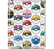 Pokemon Pokeball White iPad Case/Skin