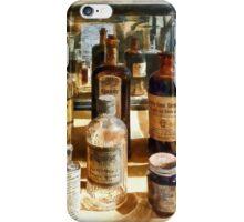 Medicine Bottles in Glass Case iPhone Case/Skin