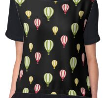 Hot Air Balloons in the Sky Chiffon Top