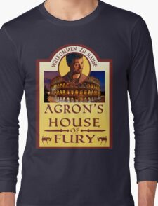 Agron's House of Fury (Spartacus) Long Sleeve T-Shirt