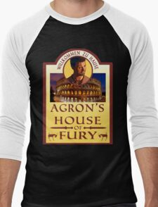 Agron's House of Fury (Spartacus) Men's Baseball ¾ T-Shirt