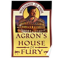 Agron's House of Fury (Spartacus) Poster
