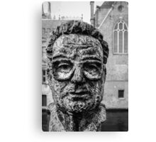 A face in Bruge Canvas Print