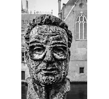 A face in Bruge Photographic Print