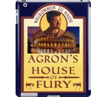 Agron's House of Fury (Spartacus) iPad Case/Skin