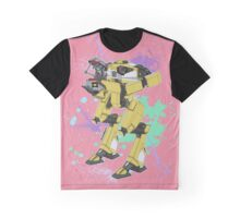 Gortys x Loader Bot (Smashcard) - Pink Graphic T-Shirt