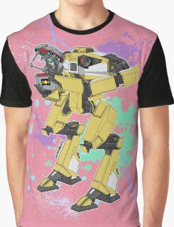 Gortys x Loader Bot (Smashcard) - Pink Graphic T-Shirt