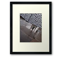 View from Inside a Brolly Framed Print