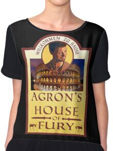 Agron's House of Fury (Spartacus) Chiffon Top
