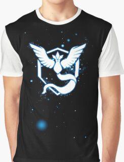 Team Mystic pokemon go Logo space stars Graphic T-Shirt