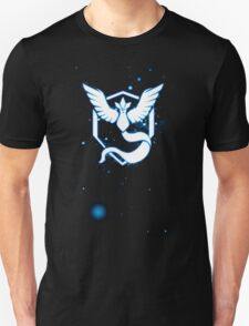 Team Mystic pokemon go Logo space stars Unisex T-Shirt
