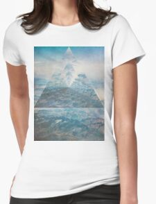 Abstract Sky  Womens Fitted T-Shirt