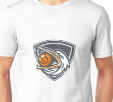 Pelican Basketball In Mouth Shield Retro Unisex T-Shirt