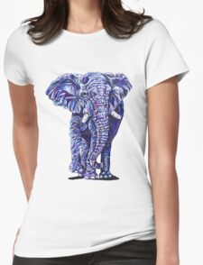 Ivory Womens Fitted T-Shirt