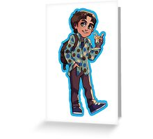Xander Harris (Season 1) Greeting Card