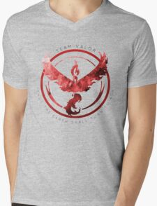 Team Valor pokemon go Mens V-Neck T-Shirt