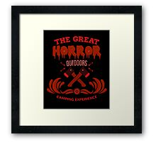 Horror Camp Framed Print
