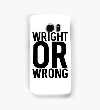 Wright Samsung Galaxy Case/Skin