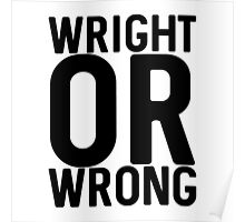 Wright Poster