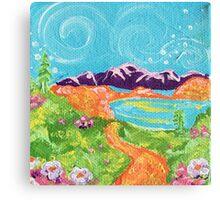 Little Alaska Canvas Print