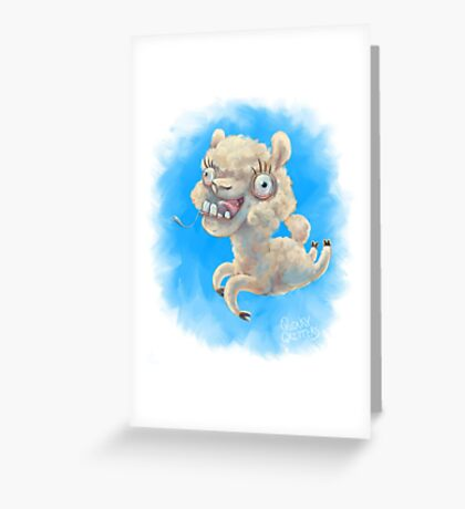 Alpacan Do It! Greeting Card